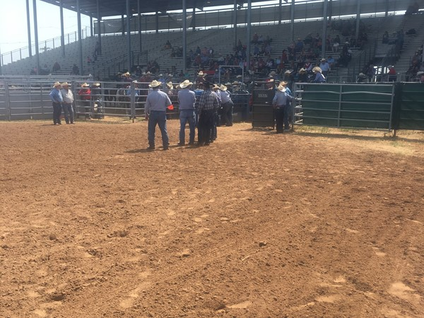 Oklahoma High School rodeo action in the heart of Oklahoma at Shawnee