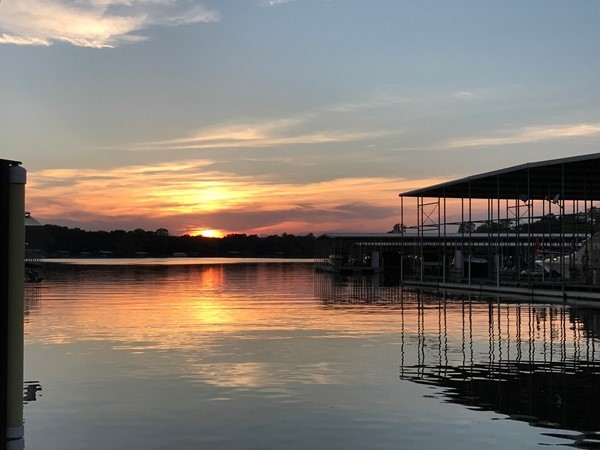 Oklahoma summer nights on Grand Lake
