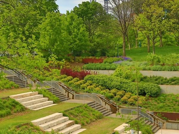 Myriad Gardens in Bricktown