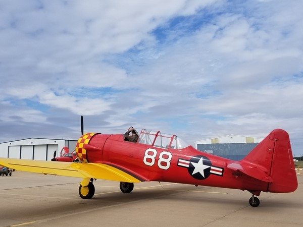 Great display of history at Wings Over Weatherford