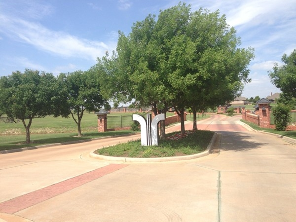 R & R Addition features an elegant gated entrance.
