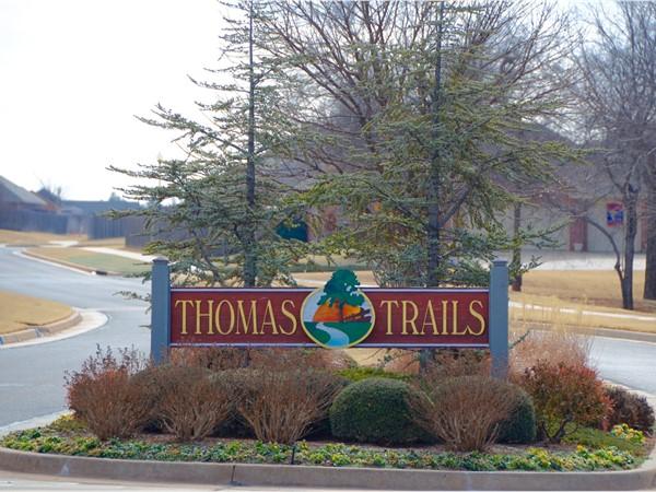 Thomas Trail entrance