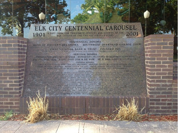 Centennial Carousel was made possible by many great citizens