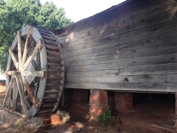 Whited Gristmill is still functioning after 100+ years