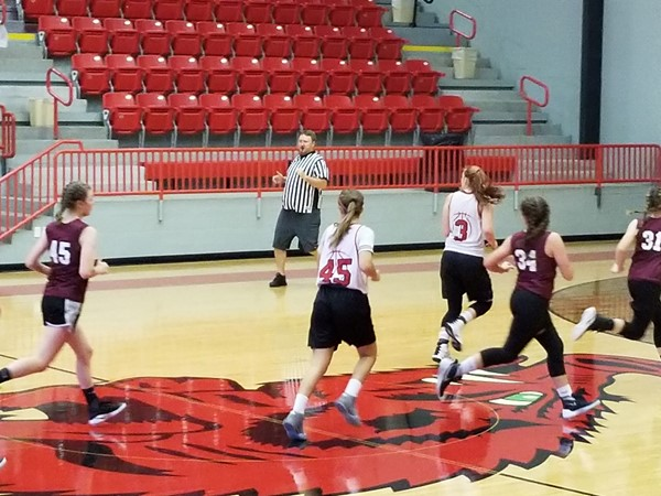 First scrimmage of the year! Go Panama Lady Backs - Leflore County in SE Oklahoma