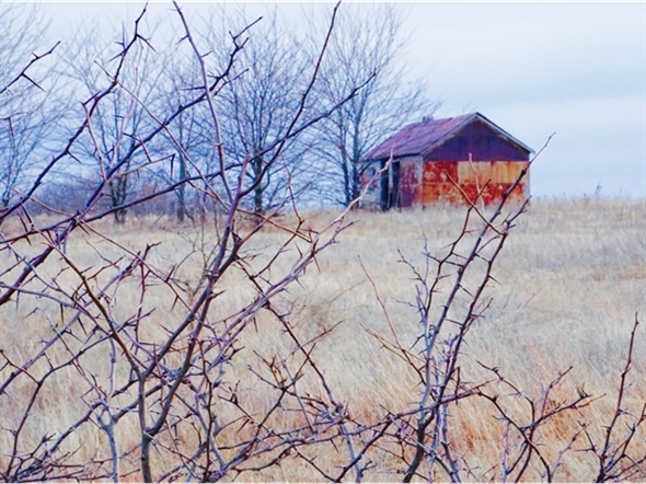 Crisp winter, Oklahoma prairie kind of day