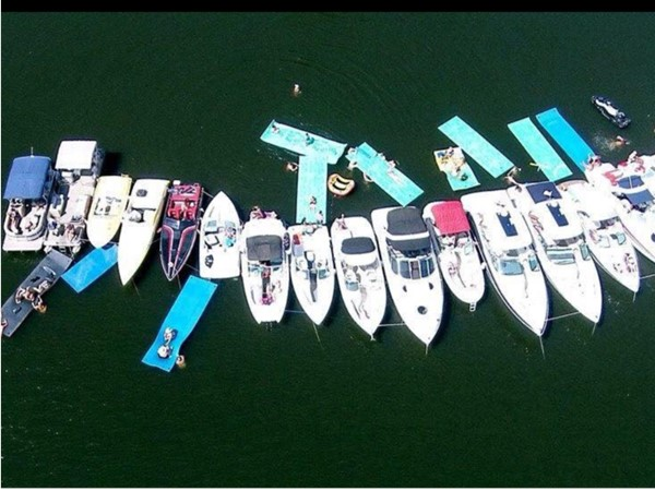 Each June, Hammer Head Marina on Grand Lake O' Cherokees hosts the Splash Blast in Ketchum Cove