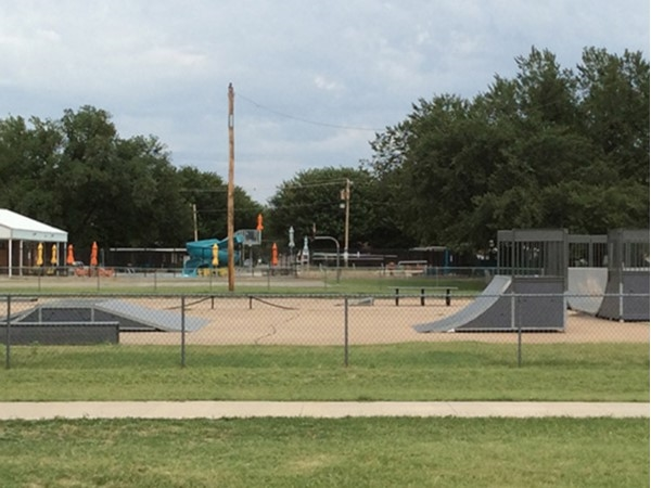The Skate Park here is fun for kids