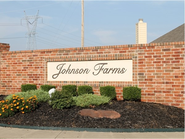 Entrance into Johnson Farms