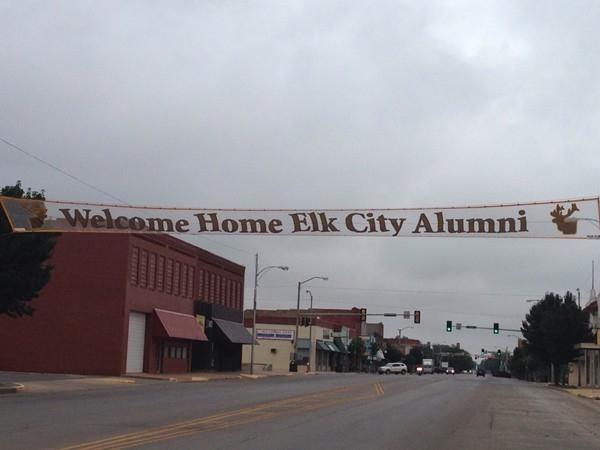 Every year Elk City celebrates an alumni reunion