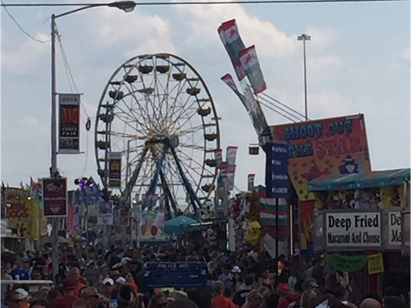 Oklahomans always enjoy a great family day at the State Fair