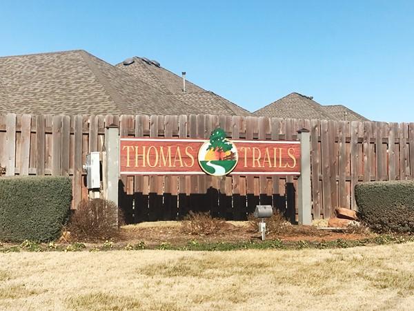 Thomas Trails entrance