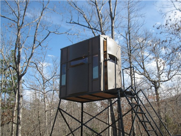 Ouachita Mountains National Forest. Now that is a deer stand