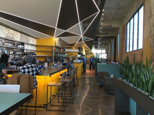 Hatch Oklahoma City. Enjoy The Bright, Edgy, And Energetic Decor With A Side