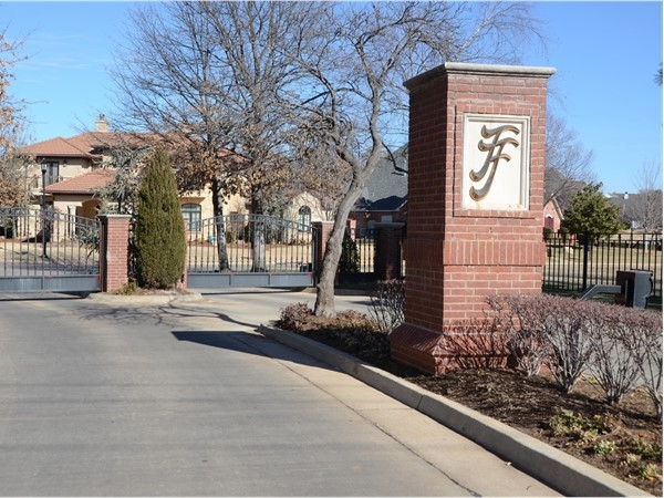 Fairview Farms gated entry