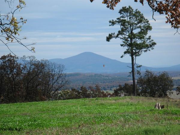 Southeastern Oklahoma - mountains, valleys and pine trees