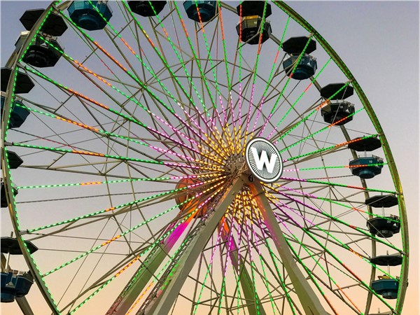 New ferris wheel located in Wheeler District in Oklahoma City