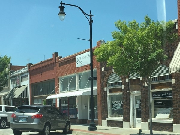 Beautiful downtown Collinsville