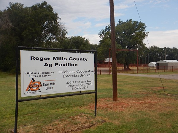 Roger Mills County Ag Pavilion in Cheyenne hosts many Ag events