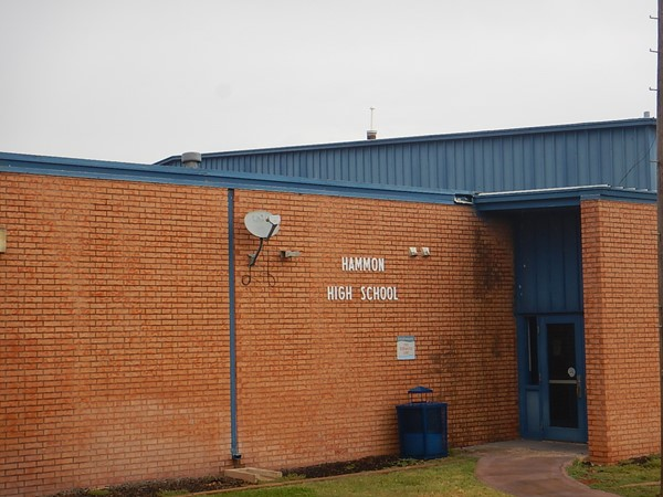 Hammon High School.  Home of the Warriors