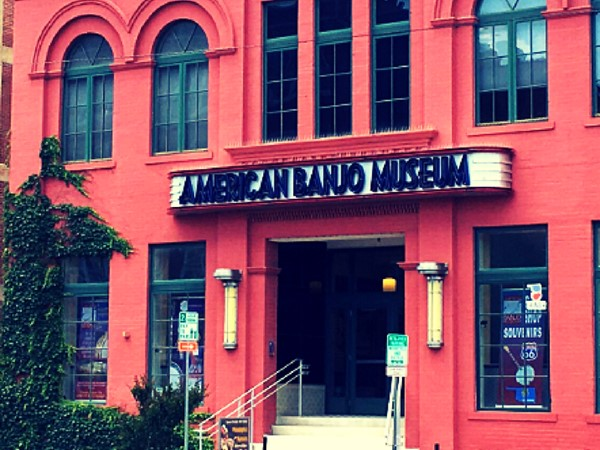 If you're ever in Bricktown in Oklahoma City...check out our American Banjo Museum. Seriously