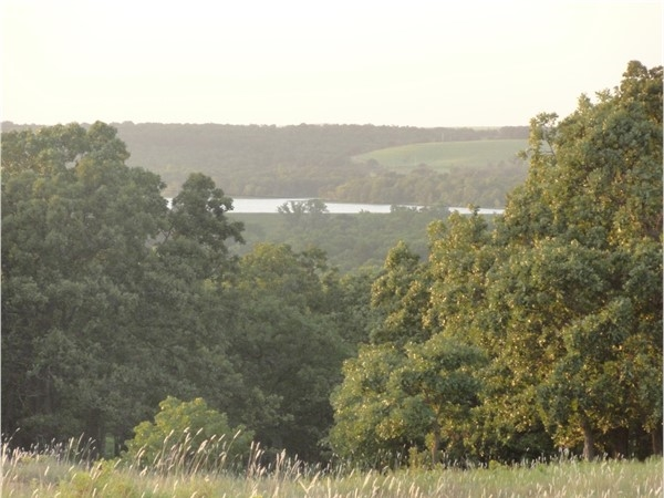 View of Hudson Lake in Osage County