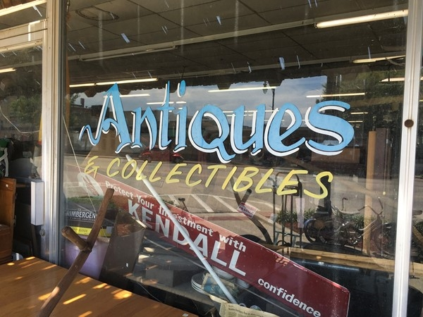Antiques in Downtown Collinsville