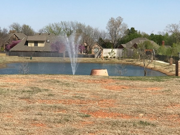 So many trails and water features in Edmond. I think you'll love living here