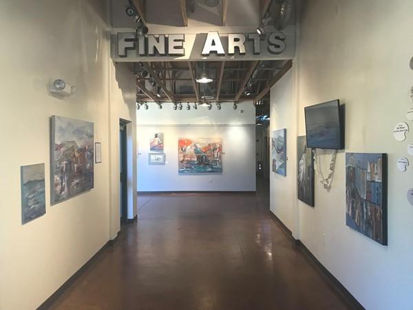 Edmond Fine Arts Institute entrance