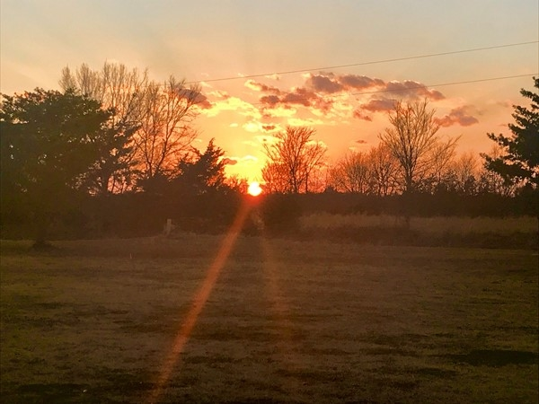 Beautiful Oklahoma sunsets