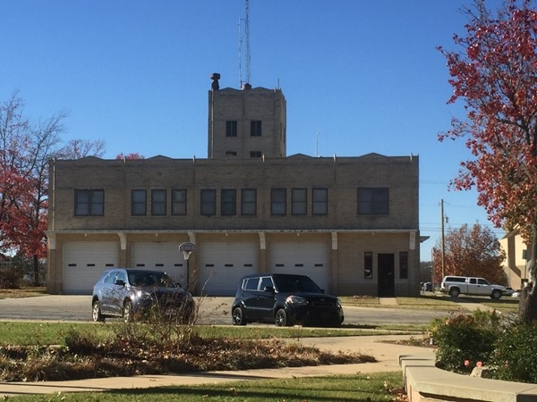 Bartlesville Fire Station #1 is located In downtown Bartlesville