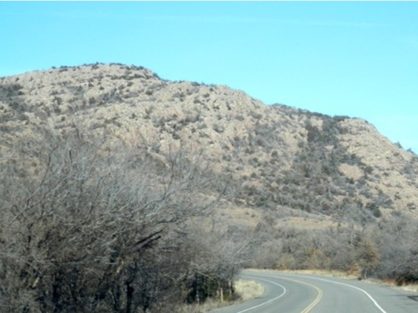 Take a drive up to the top of Mt. Scott to see breathtaking views of SW Oklahoma