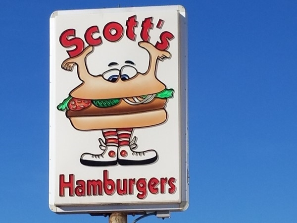Scotts Hamburgers. Great Diner feel
