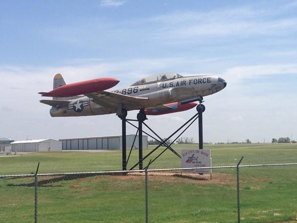 Elk City Municipal Airport has a 5,402 foot runway