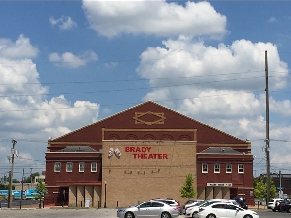 Catch a concert at the historic Brady Theater
