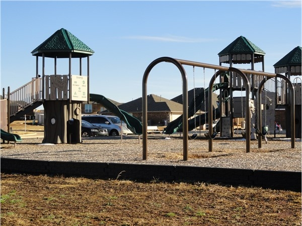 Community playground in The Grove! One of the benefits of buying a home here