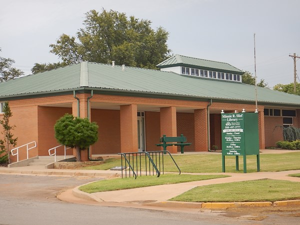 The Minnie R Slief - Cheyenne Library is part of the Western Plains Library System