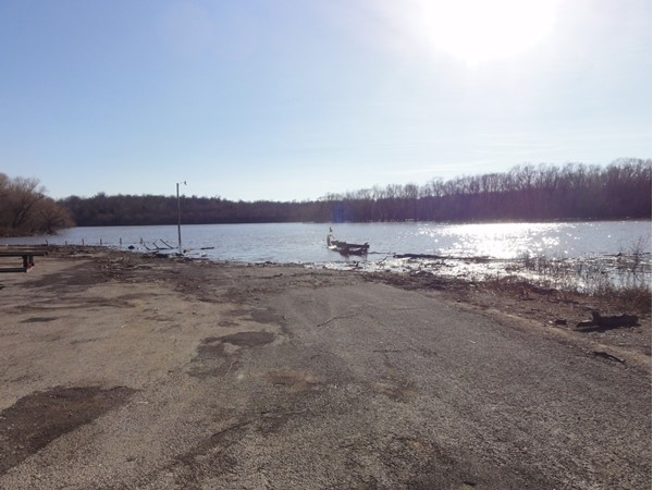 Duck Creek boat ramp located just south and east of Nowata