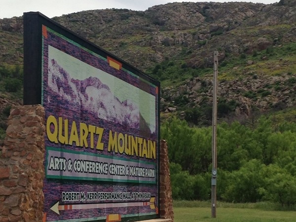 Recreation area at Quartz Mountain just minutes from Altus