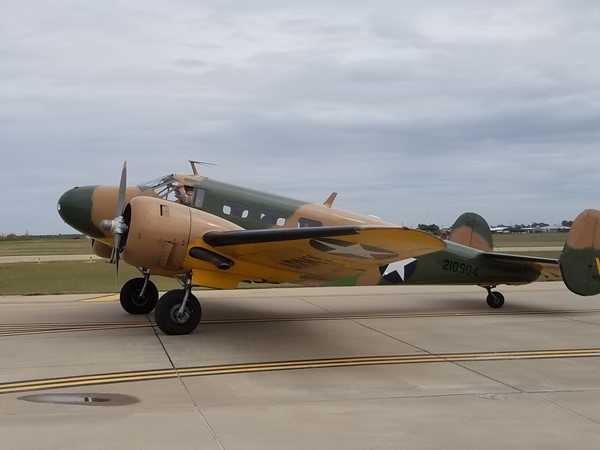 Great display of history at Wings Over Weatherford at the Stafford Air and Space Museum