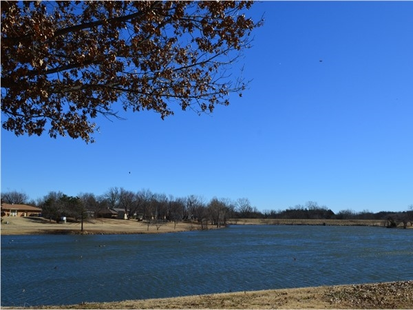 University Estates subdivision located in NW Stillwater features this beautiful pond