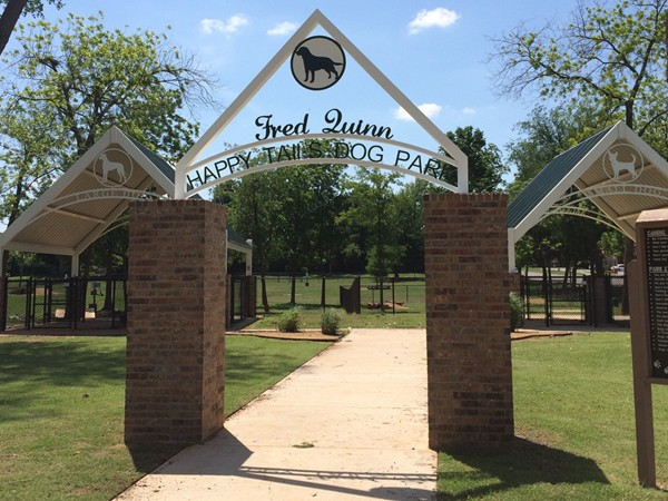 """Tails"" down, Fred Quinn Happy Tails Dog Park is one of the best dog parks around"