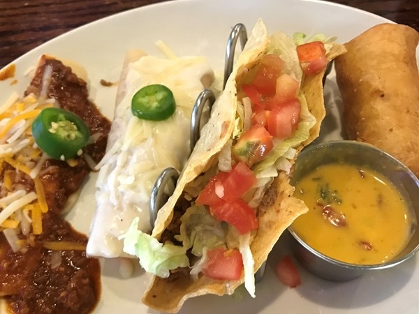 Great tacos discovered in NW Oklahoma City. On The Border on NW Expressway