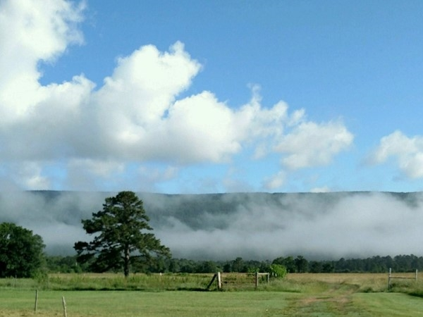 Buffalo Valley - low lying clouds