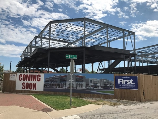 Coming Soon. Great new updates to the downtown area of Owasso
