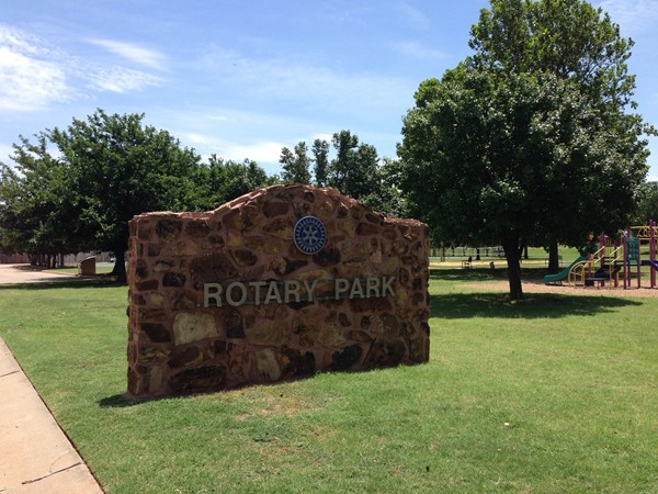 Rotary Park is just one of many parks in Elk City