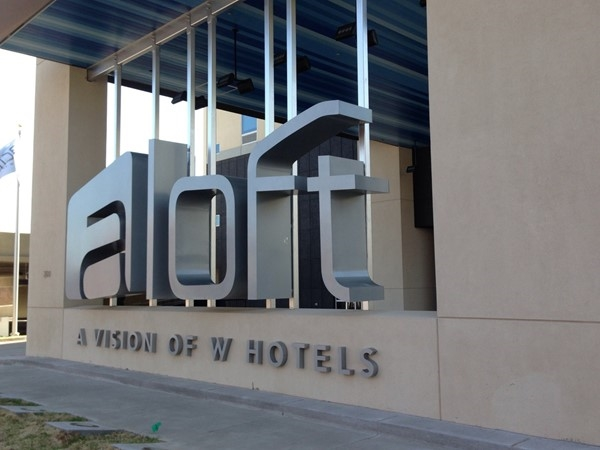 Just went to opening of the new hotel Aloft. So cool!  Great asset to the Uptown area