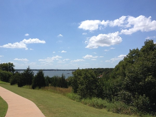 Lake Arcadia. I can see the Devon Tower and downtown OKC in the distance