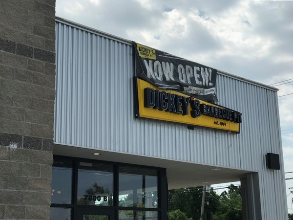 Dickey's is a great new BBQ in NW OKC