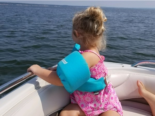 A great day for some lake fun at Lake Eufaula in Eastern Oklahoma